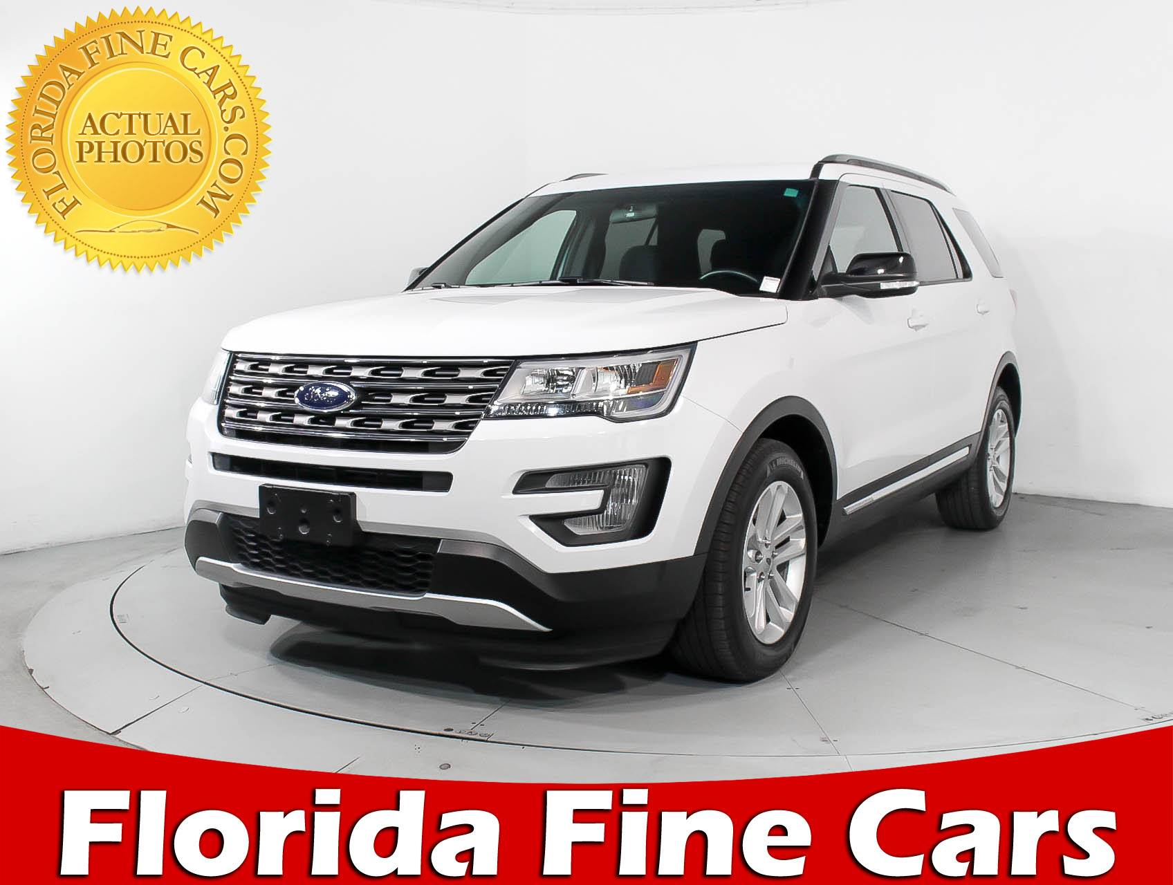 Used 2017 FORD EXPLORER XLT SUV for sale in HOLLYWOOD FL