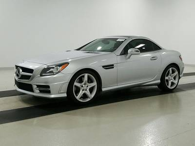 Used MERCEDES-BENZ SLK-CLASS 2015 WEST PALM Slk250 Sport