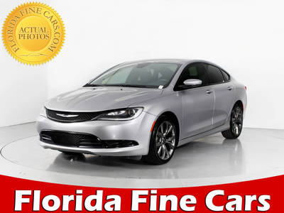Used CHRYSLER 200 2015 WEST PALM S