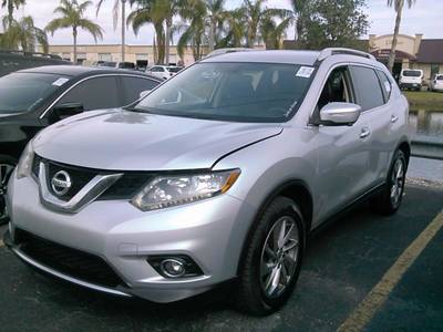 Used NISSAN ROGUE 2014 WEST PALM Sl