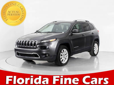 Used JEEP CHEROKEE 2016 WEST PALM LIMITED