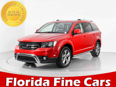 Used DODGE JOURNEY 2017 WEST PALM CROSSROAD