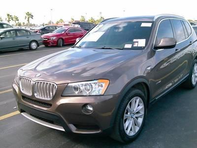 Used BMW X3 2013 WEST PALM XDRIVE28I