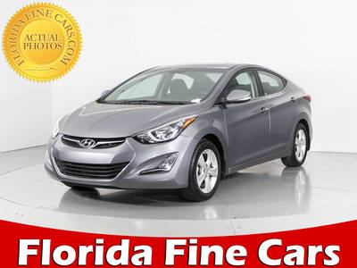 Used HYUNDAI ELANTRA 2016 WEST PALM Value
