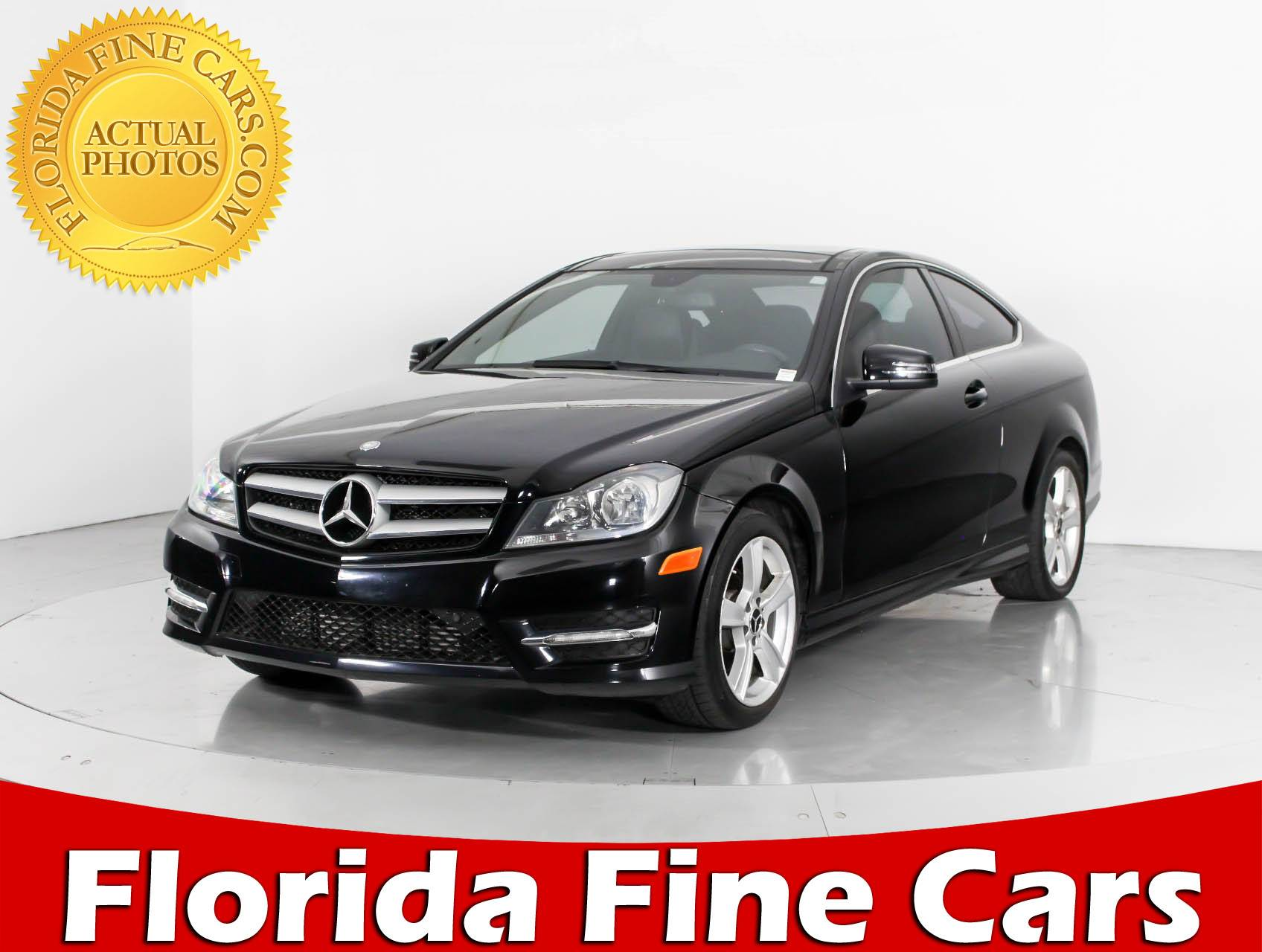 Used 2013 MERCEDES BENZ C CLASS C250 Coupe for sale in MIAMI FL