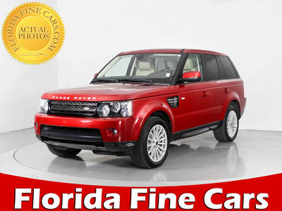 Used LAND-ROVER RANGE-ROVER-SPORT 2013 WEST PALM HSE