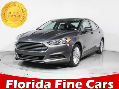 Used FORD FUSION 2014 MIAMI S HYBRID