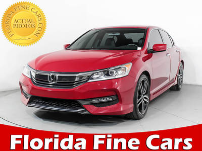 Used HONDA ACCORD 2017 MIAMI SPORT SE