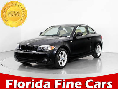 Used BMW 1-SERIES 2012 WEST PALM 128I