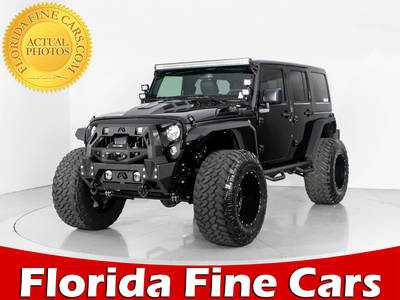Used JEEP WRANGLER-UNLIMITED 2017 WEST PALM RUBICON