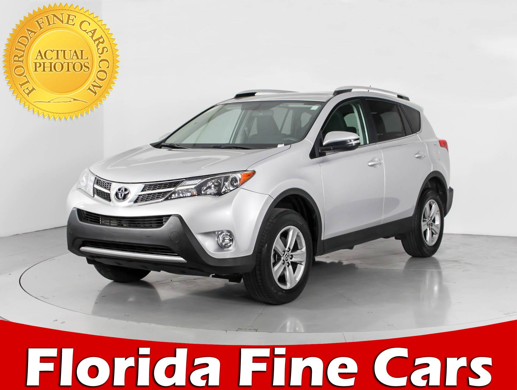 Used 2015 TOYOTA RAV4 XLE SUV for sale in WEST PALM FL