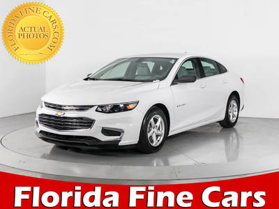 Used CHEVROLET MALIBU 2016 WEST PALM LS (1LS)