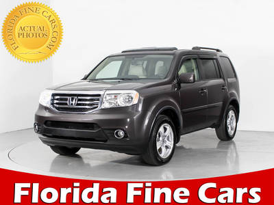 Used HONDA PILOT 2014 WEST PALM Ex-L