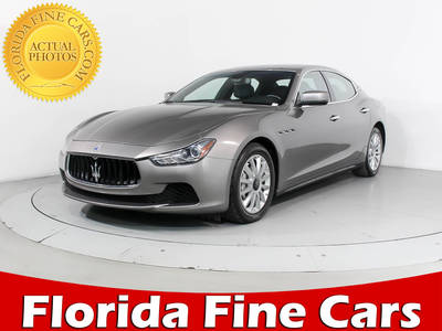 Used MASERATI GHIBLI 2014 HOLLYWOOD
