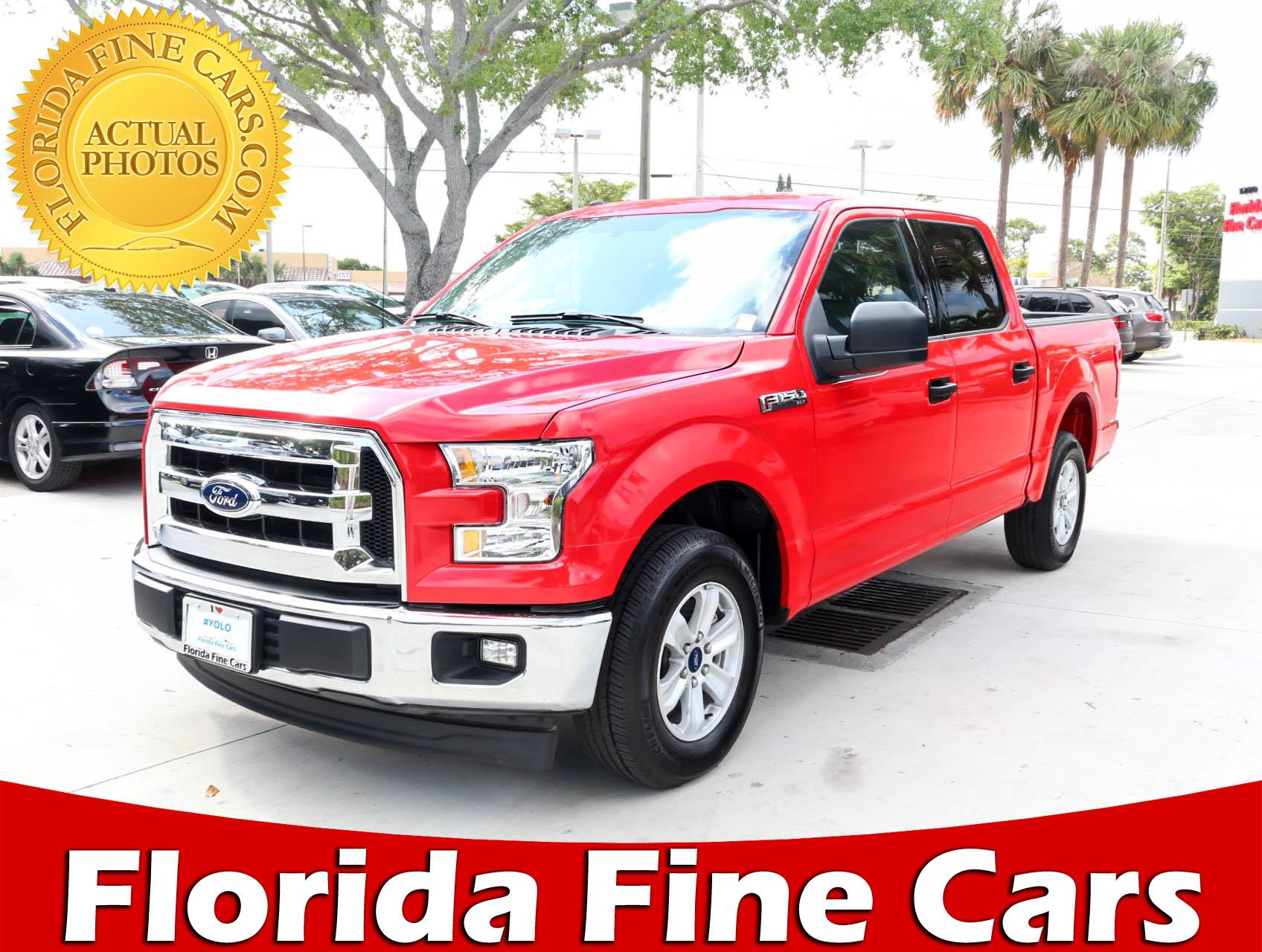 Used 2017 FORD F 150 Xlt Truck for sale in HOLLYWOOD FL