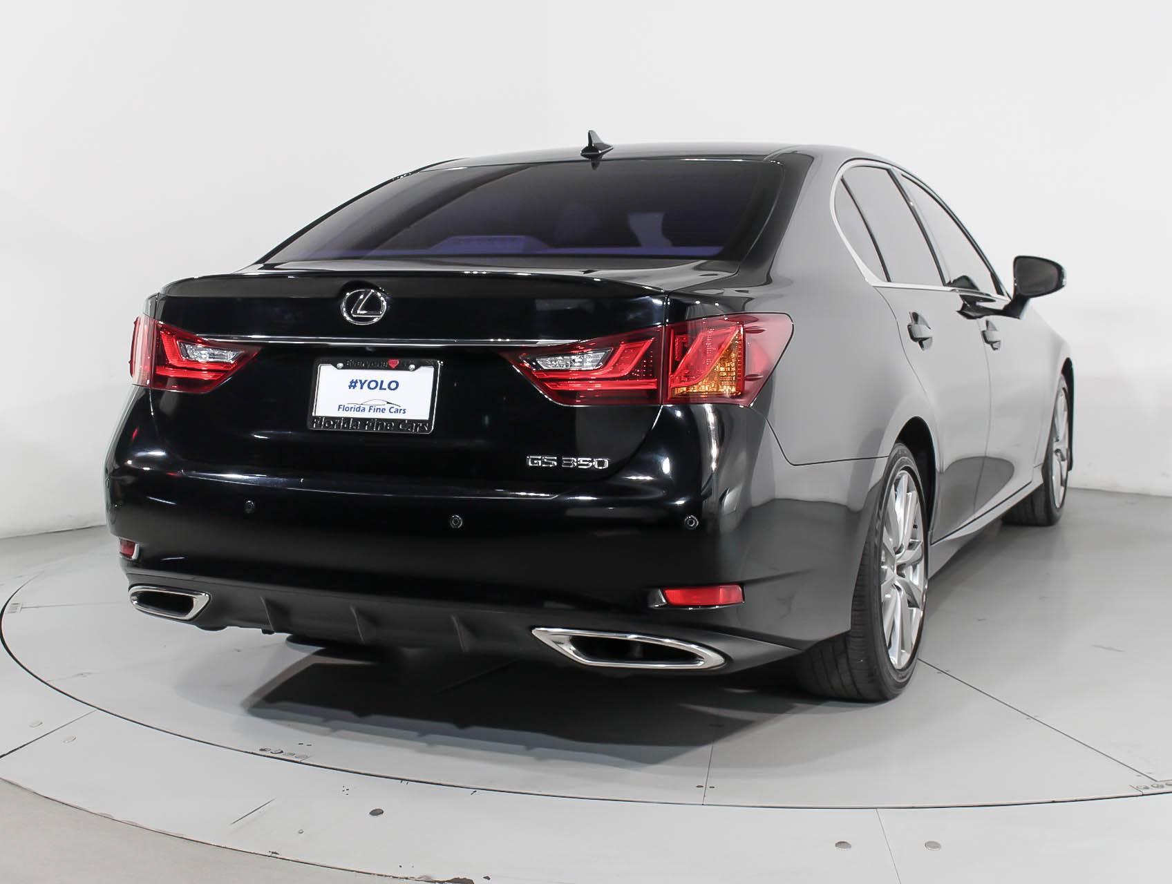 used 2013 lexus gs 350 sedan for sale in miami fl 91866 florida fine cars. Black Bedroom Furniture Sets. Home Design Ideas