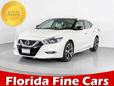 Used NISSAN MAXIMA 2016 WEST PALM Platinum