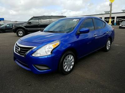 Used NISSAN VERSA 2016 HOLLYWOOD Sv