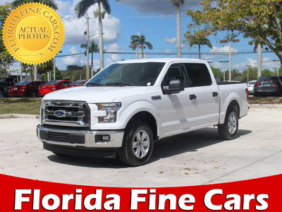Used FORD F-150 2017 MARGATE Crew Cab Xlt