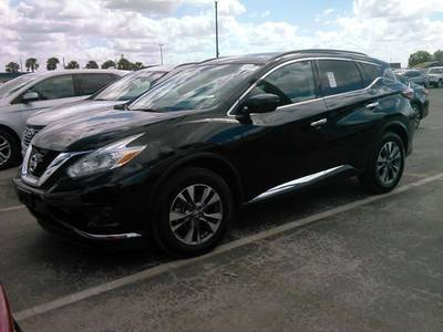 Used NISSAN MURANO 2017 HOLLYWOOD Sv Awd