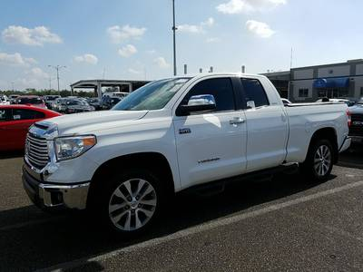 Used TOYOTA TUNDRA 2016 MARGATE LIMITED