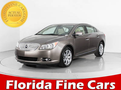 Used BUICK LACROSSE 2012 WEST PALM PREMIUM 2