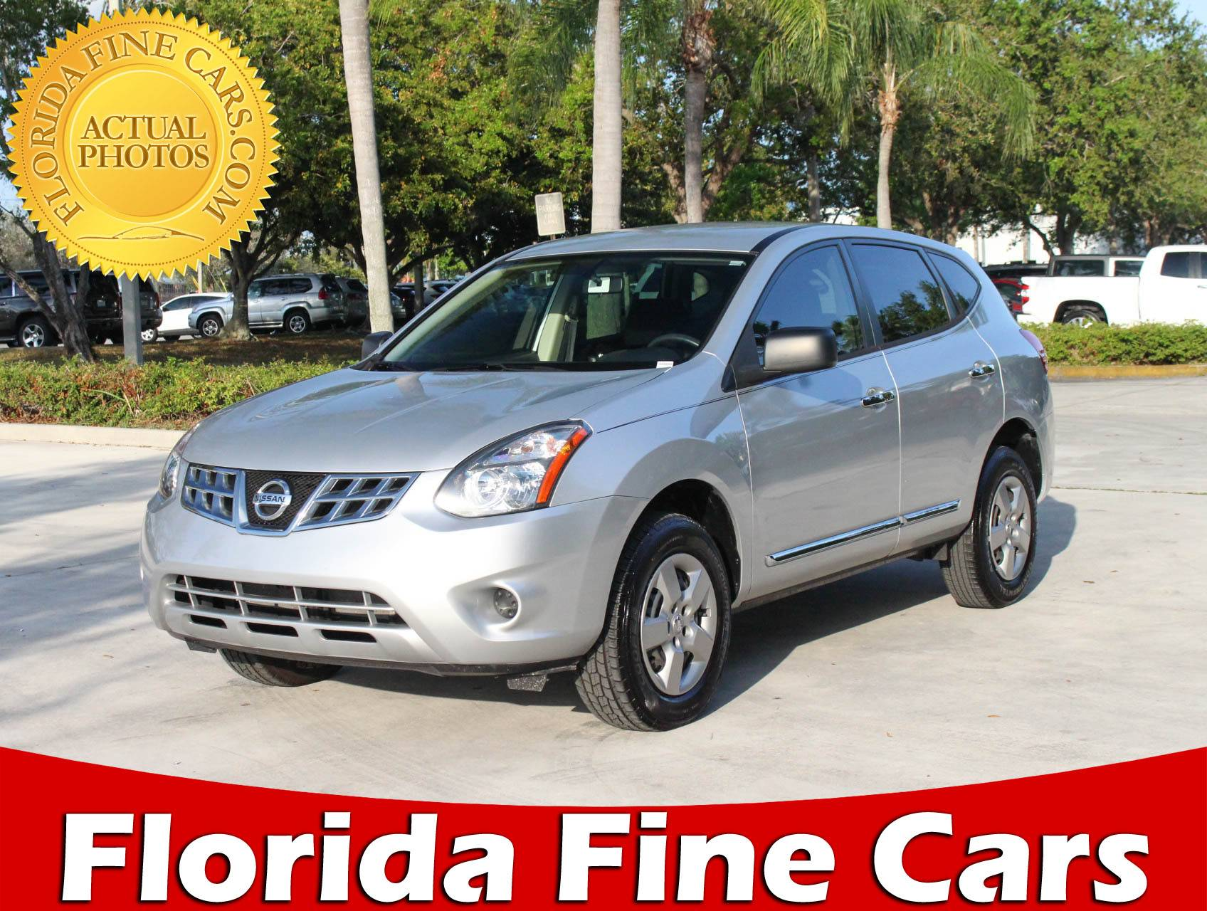 Used 2015 NISSAN ROGUE SELECT S Awd SUV for sale in MARGATE FL