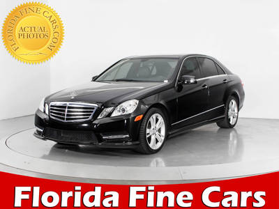 Used MERCEDES-BENZ E-CLASS 2013 WEST PALM E350