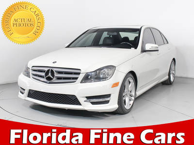 Used MERCEDES-BENZ C-CLASS 2012 WEST PALM C300 4MATIC
