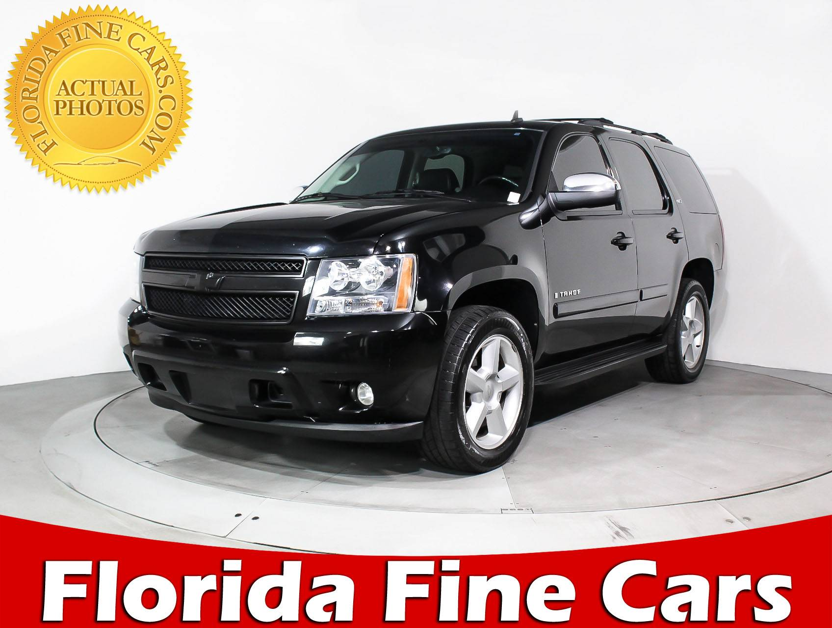 Used 2008 CHEVROLET TAHOE Ltz SUV for sale in HOLLYWOOD FL