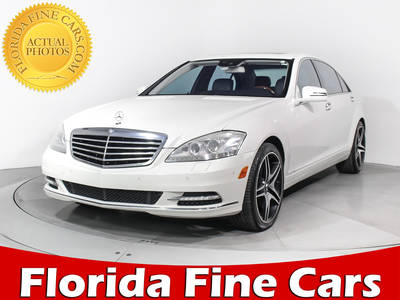 Used MERCEDES-BENZ S-CLASS 2010 MIAMI S550