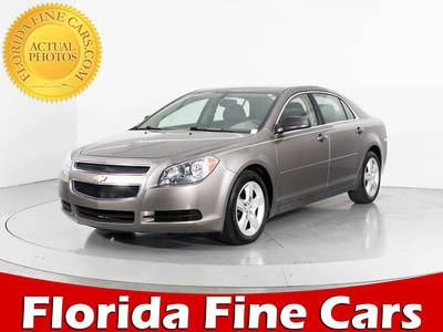 Used CHEVROLET MALIBU 2012 WEST PALM LS