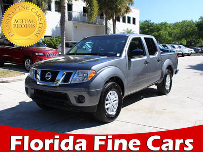 Used NISSAN FRONTIER 2017 WEST PALM Sv