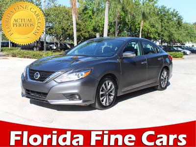Used NISSAN ALTIMA 2017 MARGATE Sl