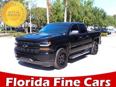 Used CHEVROLET SILVERADO 2016 MARGATE CUSTOM
