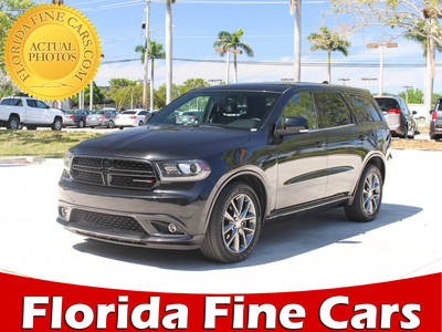 Used DODGE DURANGO 2014 MARGATE R/t