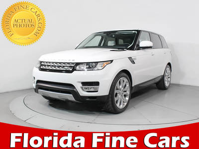 Used LAND-ROVER RANGE-ROVER-SPORT 2016 MIAMI HSE