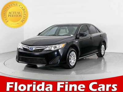 Used TOYOTA CAMRY 2013 WEST PALM Hybrid Le