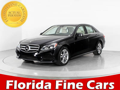 Used MERCEDES-BENZ E-CLASS 2015 WEST PALM E350