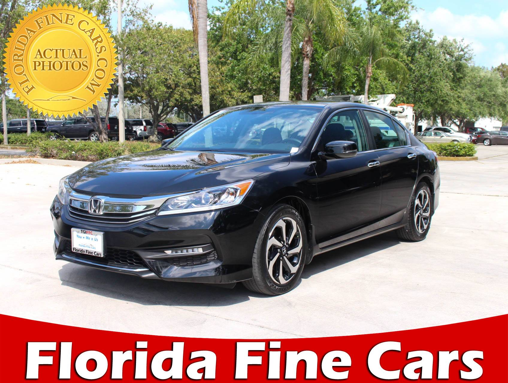 Used 2016 HONDA ACCORD EX Sedan For Sale In HOLLYWOOD, FL | 92214 | Florida  Fine Cars