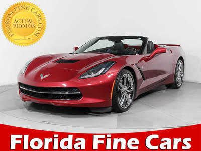Used CHEVROLET CORVETTE 2014 HOLLYWOOD STINGRAY Z51 3LT