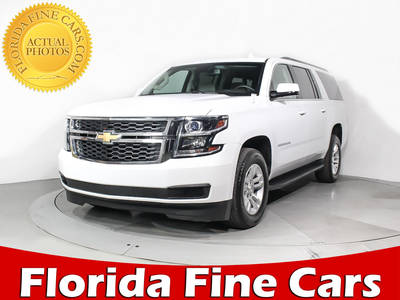 Used CHEVROLET SUBURBAN 2017 Miami LT