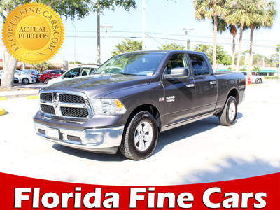 Used RAM 1500 2018 WEST PALM Slt Crew Cab