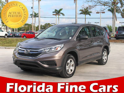 Used HONDA CR-V 2015 MARGATE LX