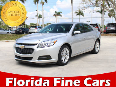 Used CHEVROLET MALIBU 2015 MARGATE 1LT