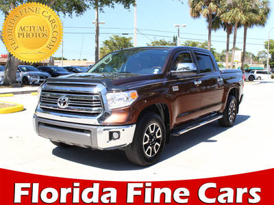 Used TOYOTA TUNDRA 2016 WEST PALM 1794 Edition