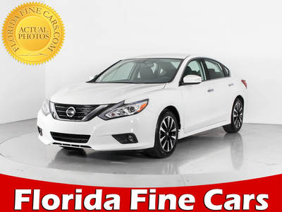 Used NISSAN ALTIMA 2018 WEST PALM Sl