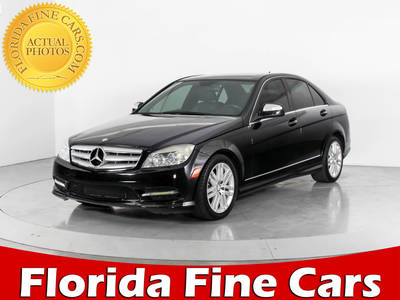 Used MERCEDES-BENZ C-CLASS 2008 WEST PALM C300