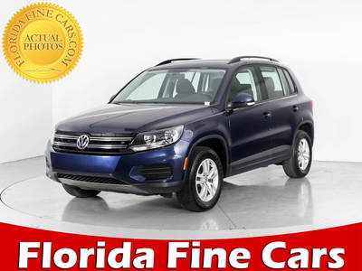 Used VOLKSWAGEN TIGUAN 2015 WEST PALM S