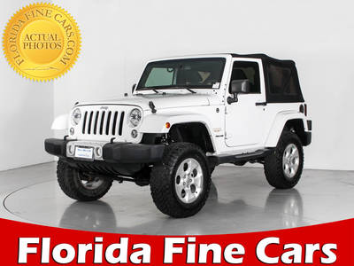 Used JEEP WRANGLER 2014 WEST PALM SAHARA